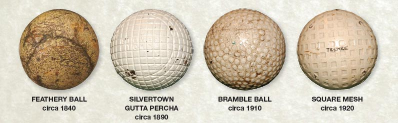 Evolution Of The Golf Ball
